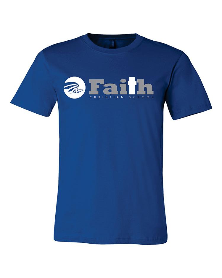 01-Faith Christian royal short sleeve 3001A