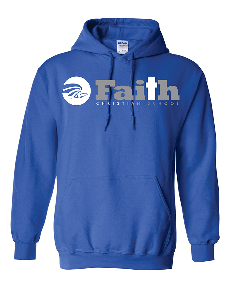 03-Faith Christian royal hoodie 18500A