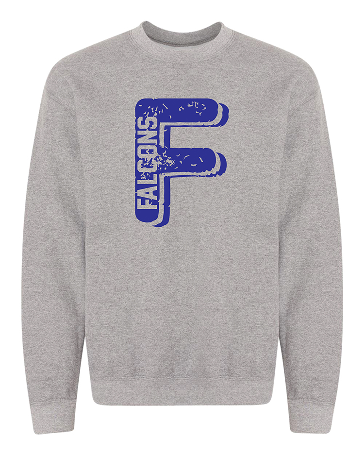 04-Faith Christian graphite heather crewneck 18000B