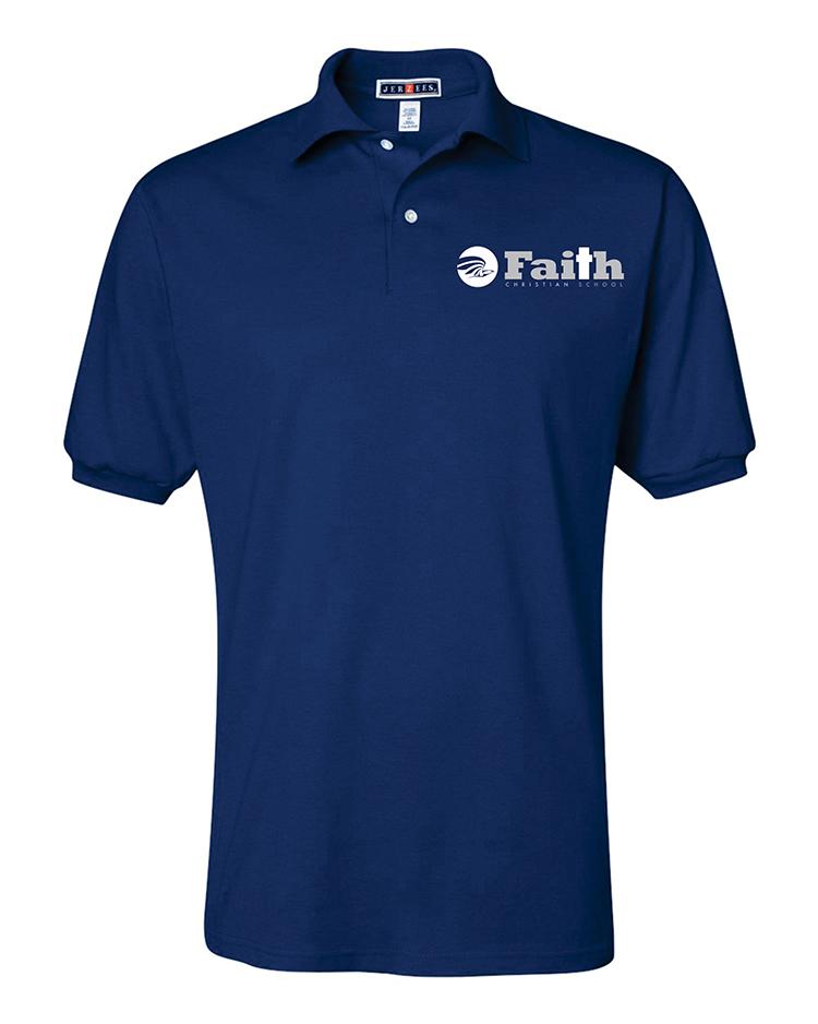 06-Faith Christian royal polo 437MSRa