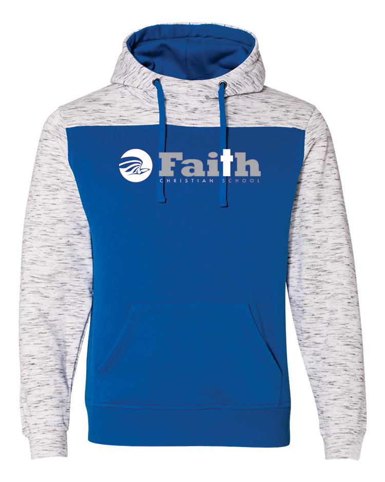 Faith Christian Two Toned Hoodie 8676